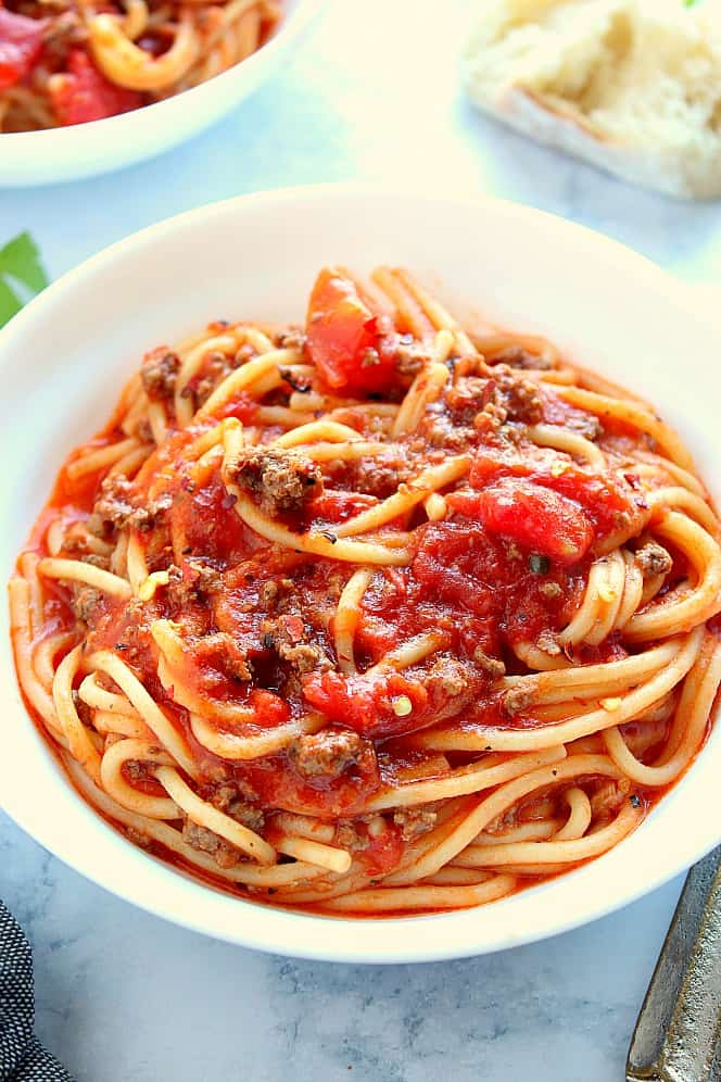 Instant Pot Spaghetti 1 Instant Pot Spaghetti Recipe