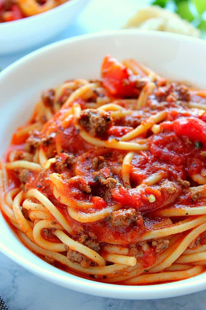 Instant Pot Spaghetti 5 Instant Pot Spaghetti Recipe