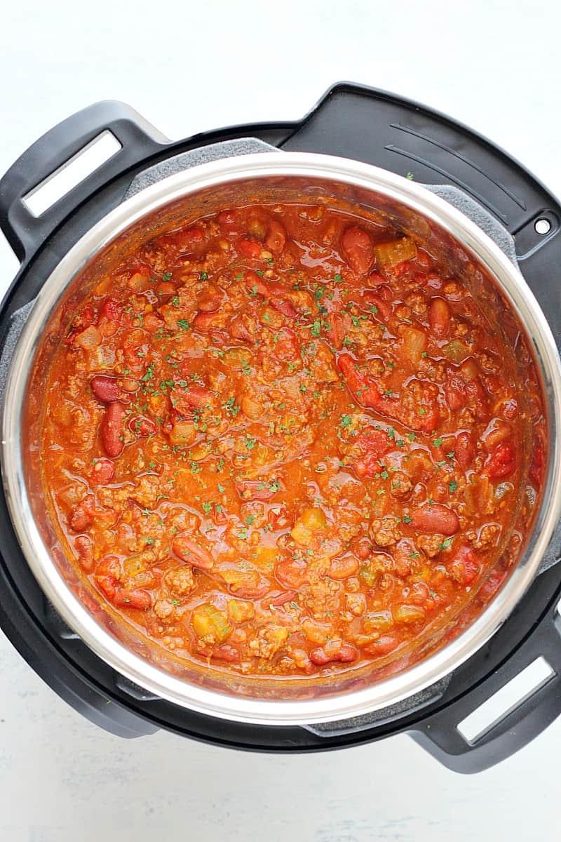 Instant Pot chili B Best Instant Pot Chili