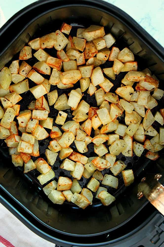 air fryer roasted potatoes 2a Air Fryer Roasted Potatoes
