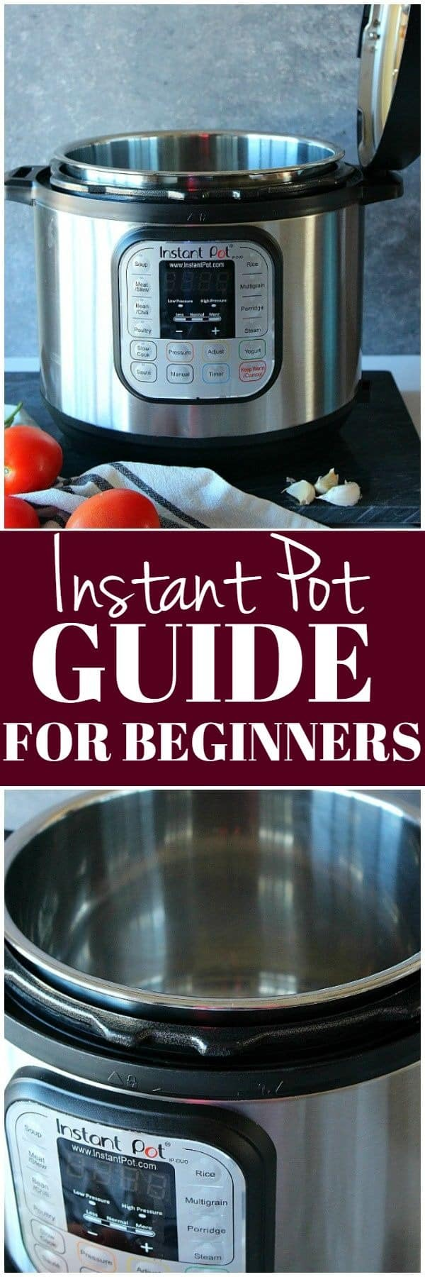how to use the Instant Pot beginners guide 1 Instant Pot Guide for Beginners
