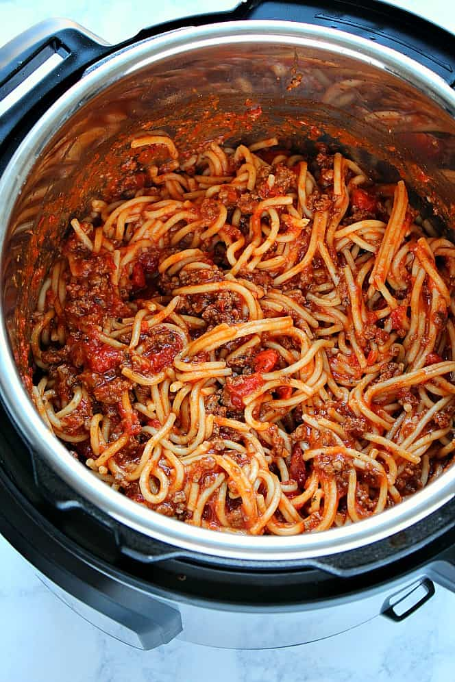 the best Instant Pot spaghetti  Instant Pot Spaghetti Recipe