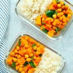 Instant Pot sweet potato curry meal prep A 150x150 Instant Pot Sweet Potato Curry