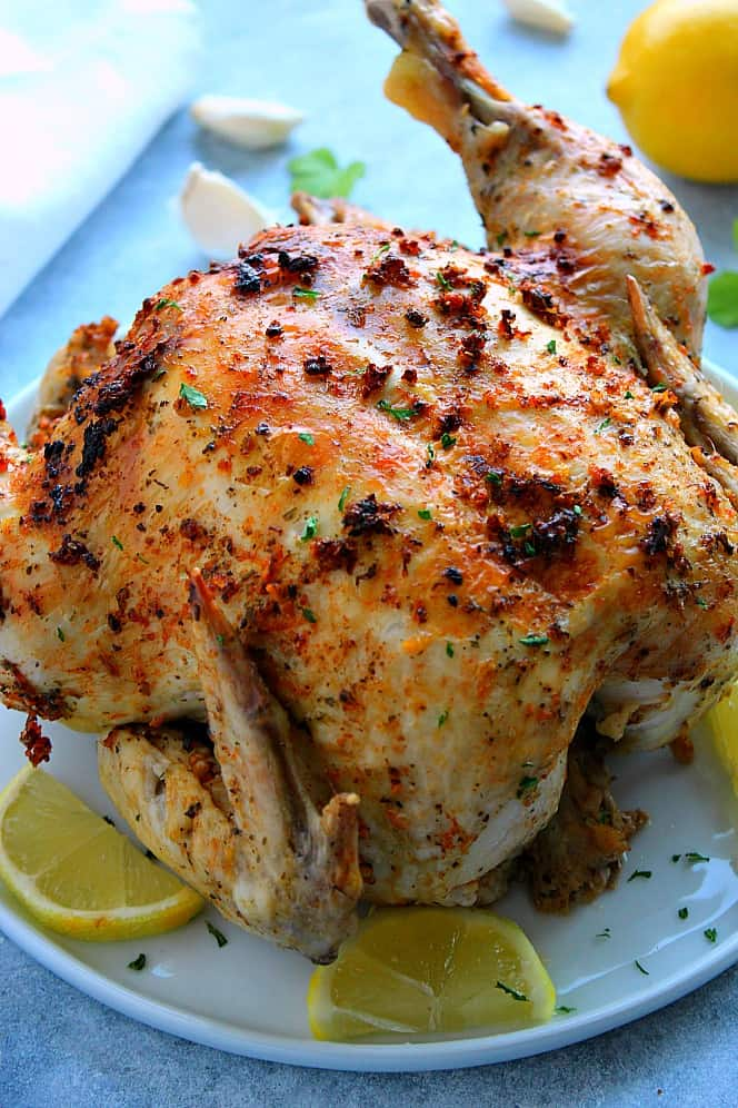 Instant Pot whole chicken 5 Instant Pot Roasted Whole Chicken Recipe