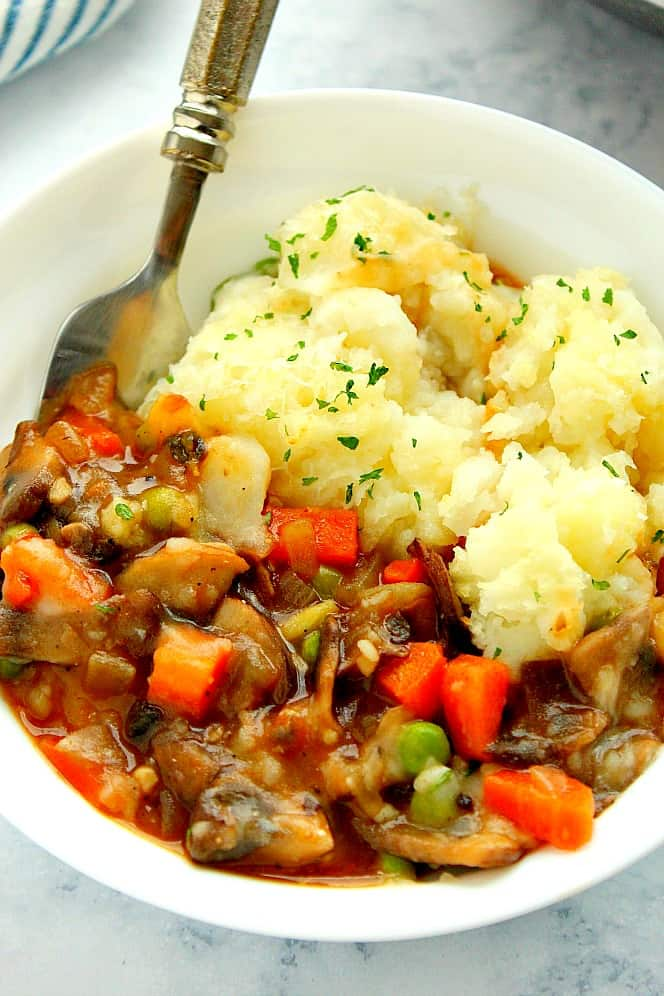 vegetarian shephards pie 2a Vegetarian Shepherds Pie Recipe