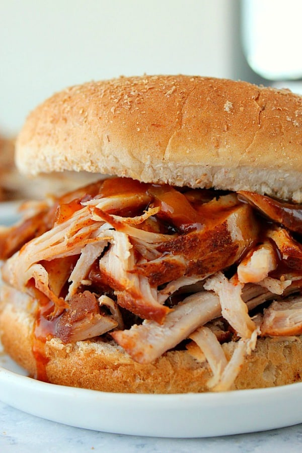Instant Pot pulled pork A 14 Day Instant Pot Meal Plan