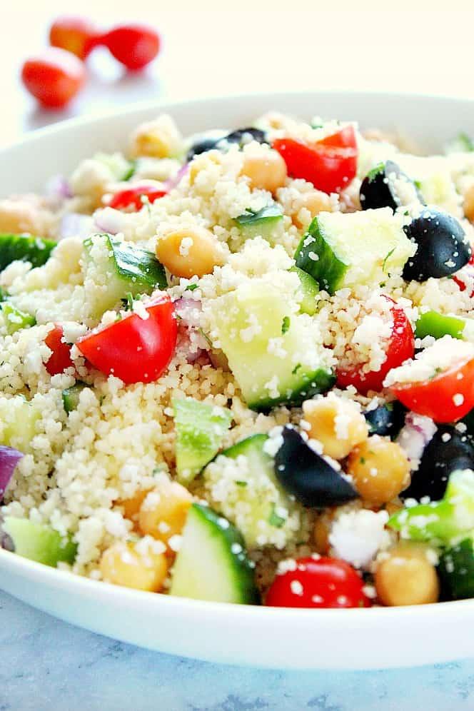 Mediterranean couscous salad 2 Mediterranean Couscous Salad Recipe