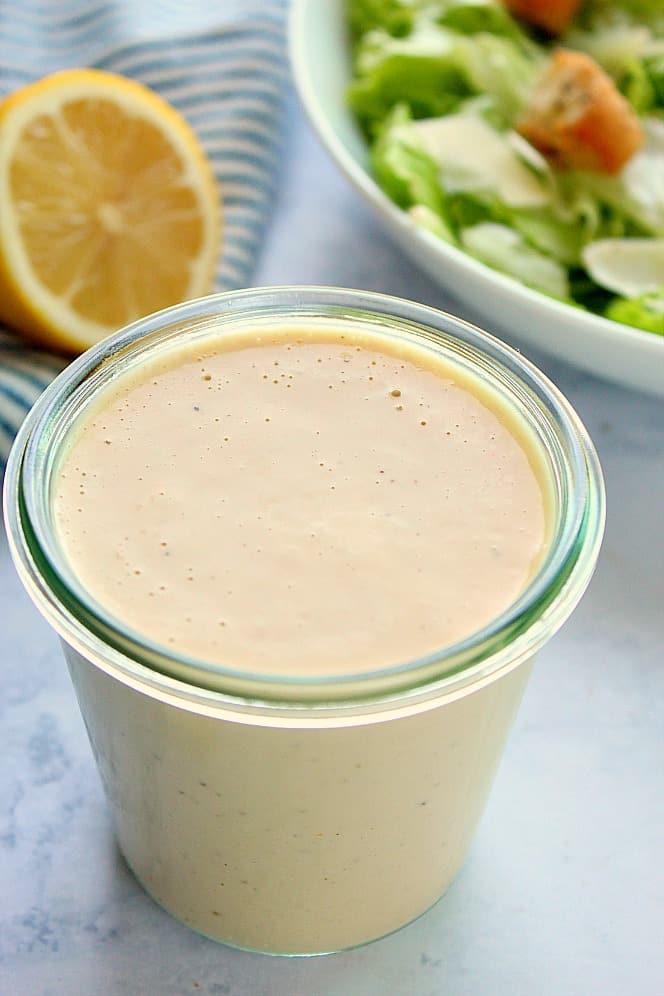 best homemade caesar salad dressing A Creamy Caesar Dressing Recipe