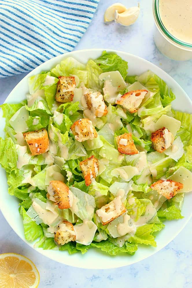 better than restaurant caesar salad Perfect Caesar Salad