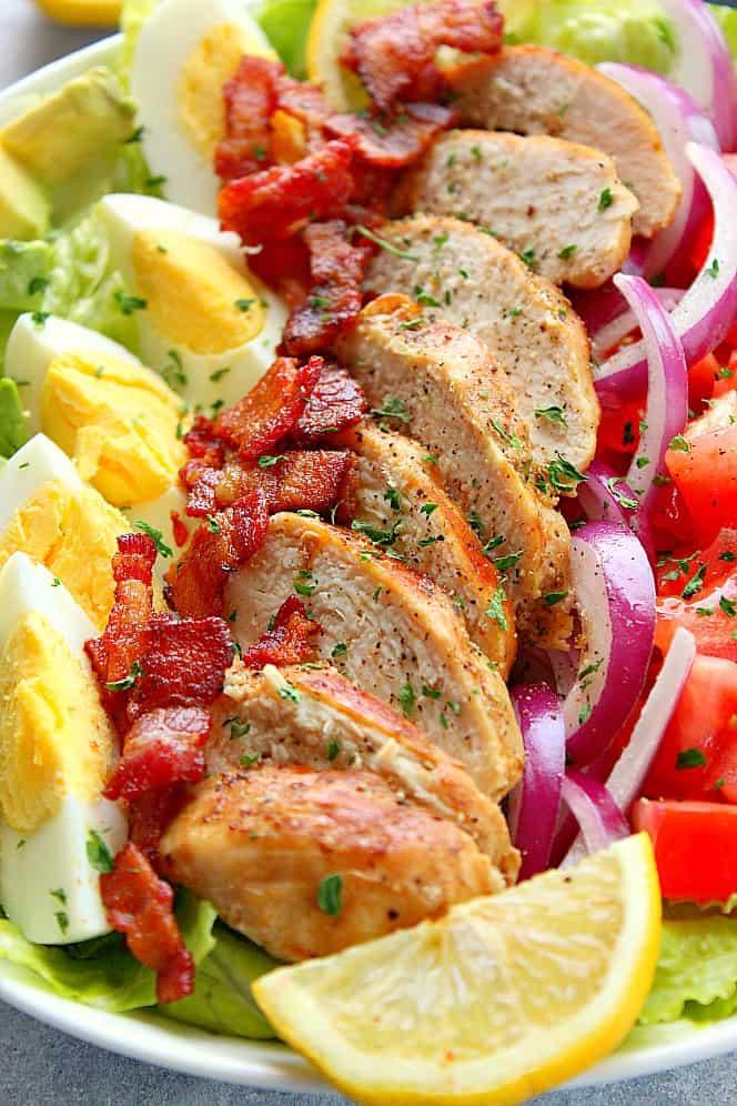 chicken cobb salad 3 Chicken Cobb Salad Recipe