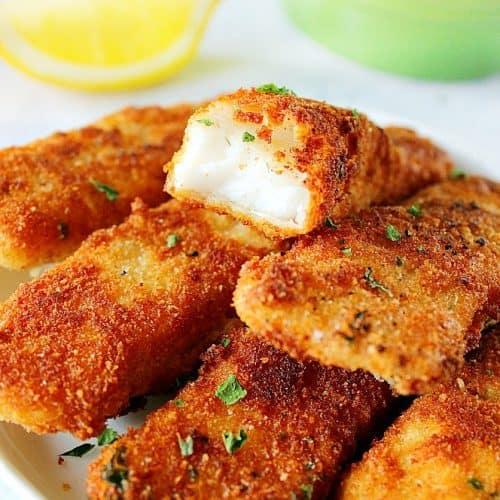 Fried Fish On A Stick