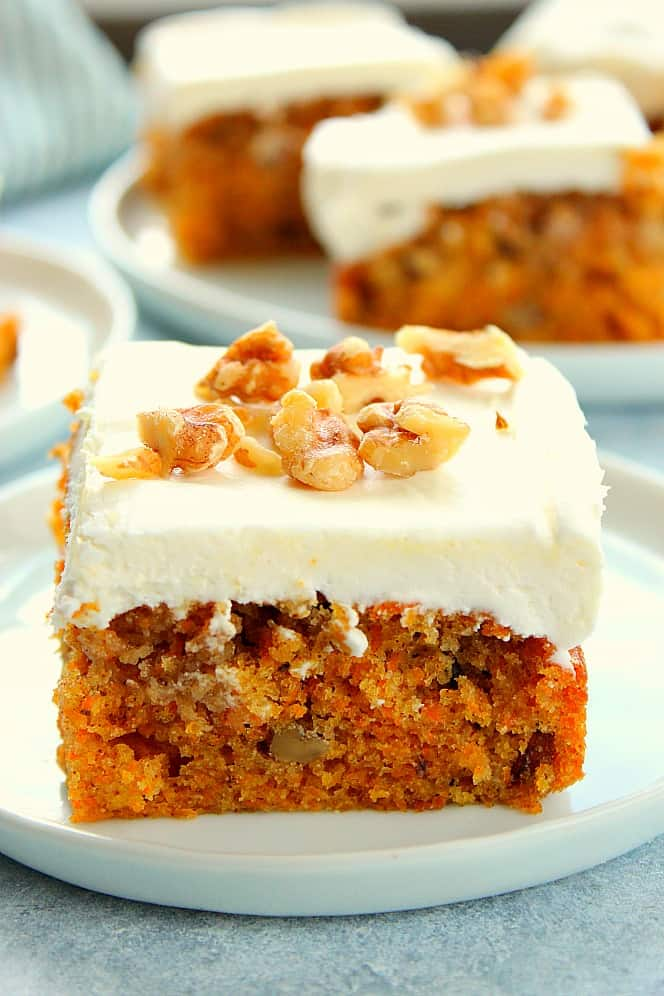 moist carrot cake The Best Moist Carrot Cake Recipe