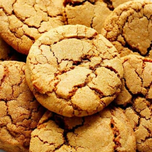 Chewy Ginger Molasses Cookies From Crunchy Creamy Sweet