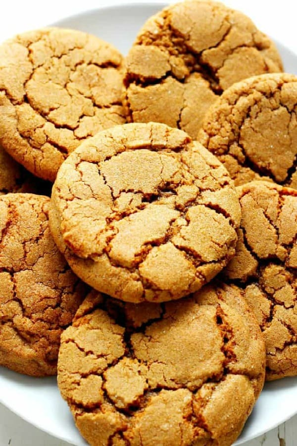 Molasses Cookies Crunchy Creamy Sweet