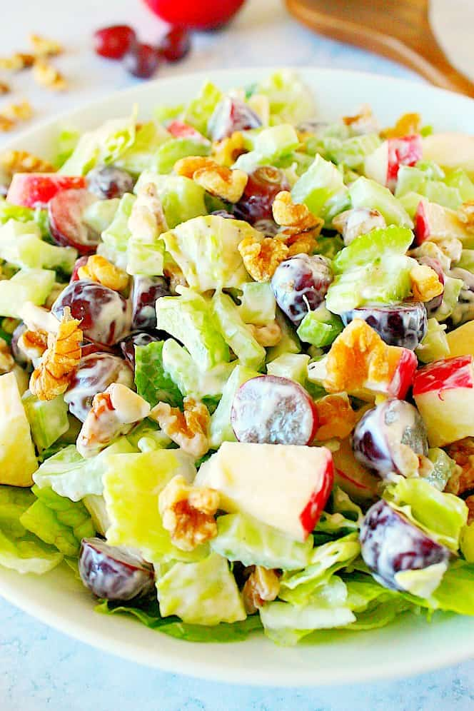 waldorf salad 2a Classic Waldorf Salad