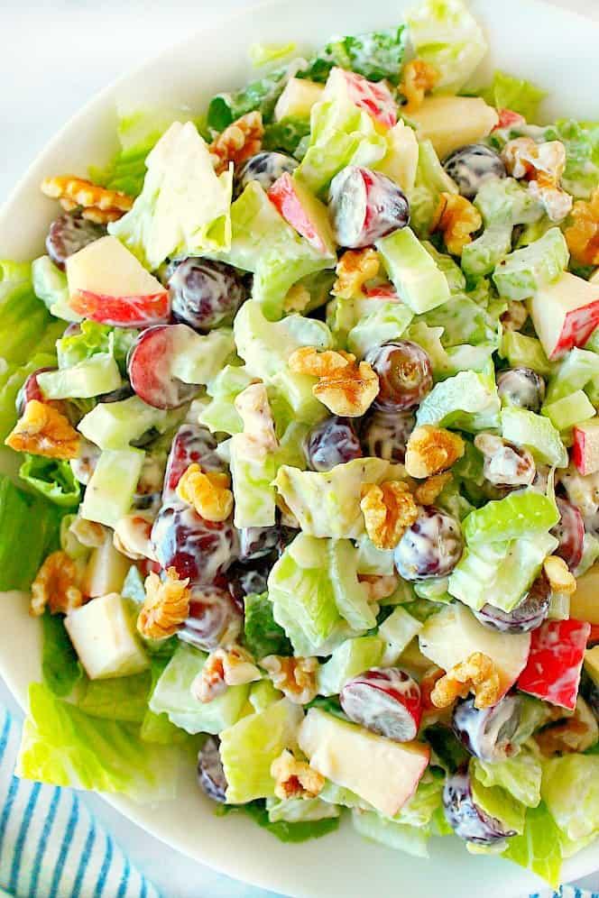 waldorf salad 3Aa Classic Waldorf Salad