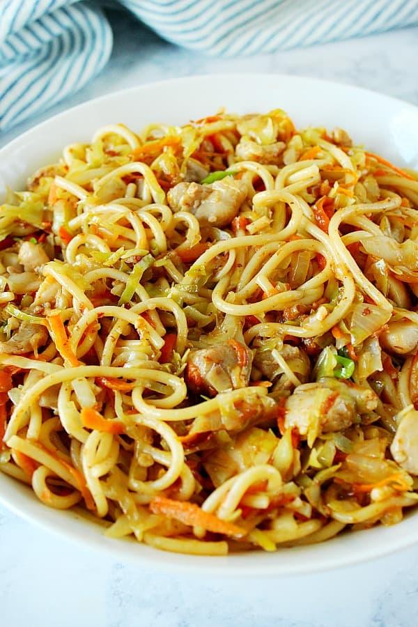 chicken chow mein 2 Chicken Chow Mein