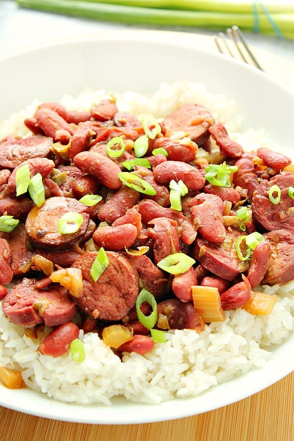 IP beans and rice D Easy Instant Pot Red Beans and Rice