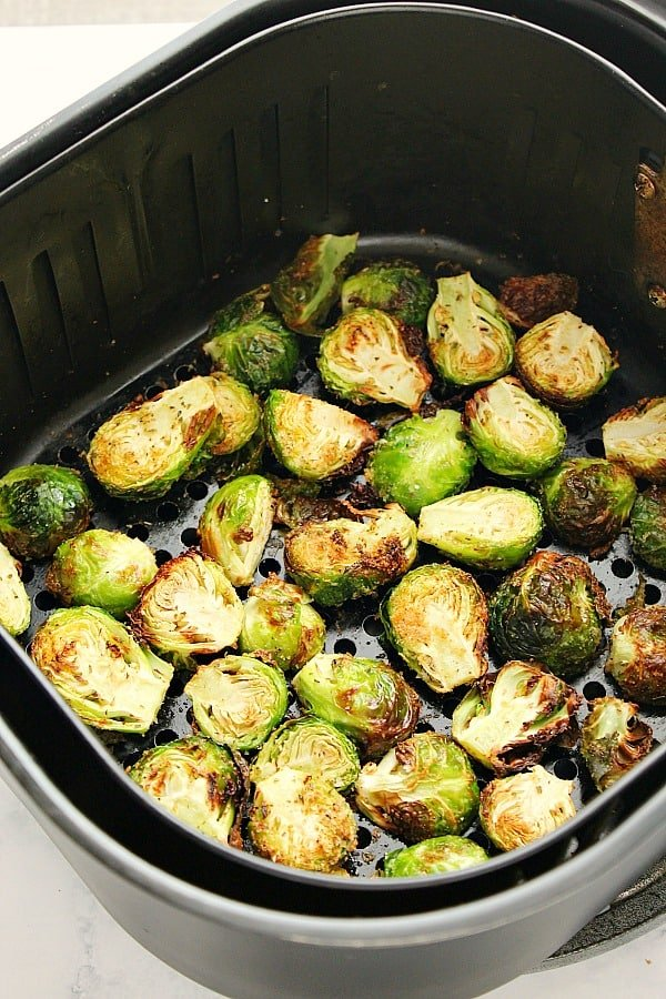 AF brussels sprouts A Air Fryer Brussels Sprouts