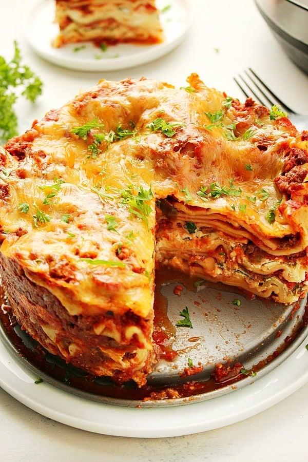 Instant Pot Lasagna A Instant Pot Lasagna