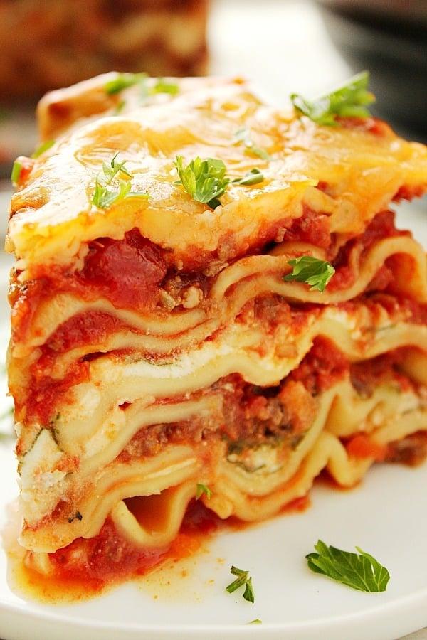 Instant Pot Lasagna B Instant Pot Lasagna
