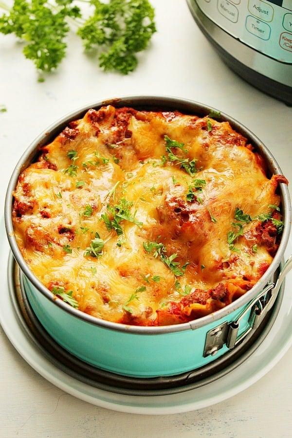 Instant Pot Lasagna C Instant Pot Lasagna