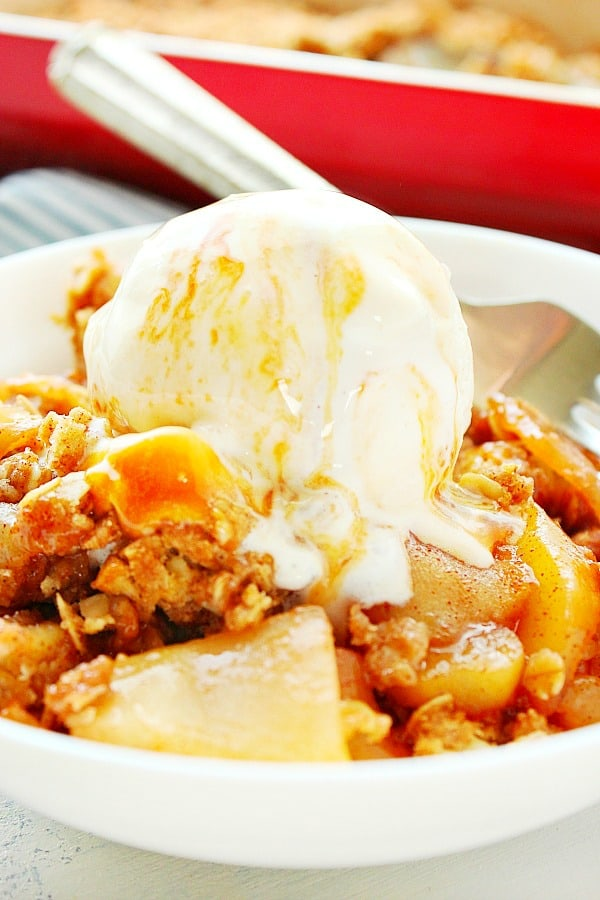apple crisp Ba Old Fashioned Apple Crisp