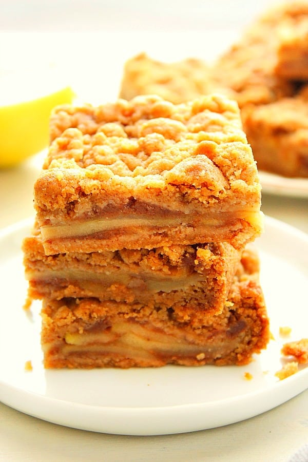 apple pie bars Ca Easy Apple Pie Bars