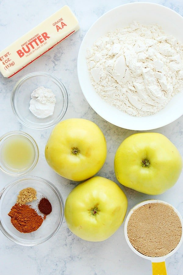 apple pie bars ingredients Easy Apple Pie Bars