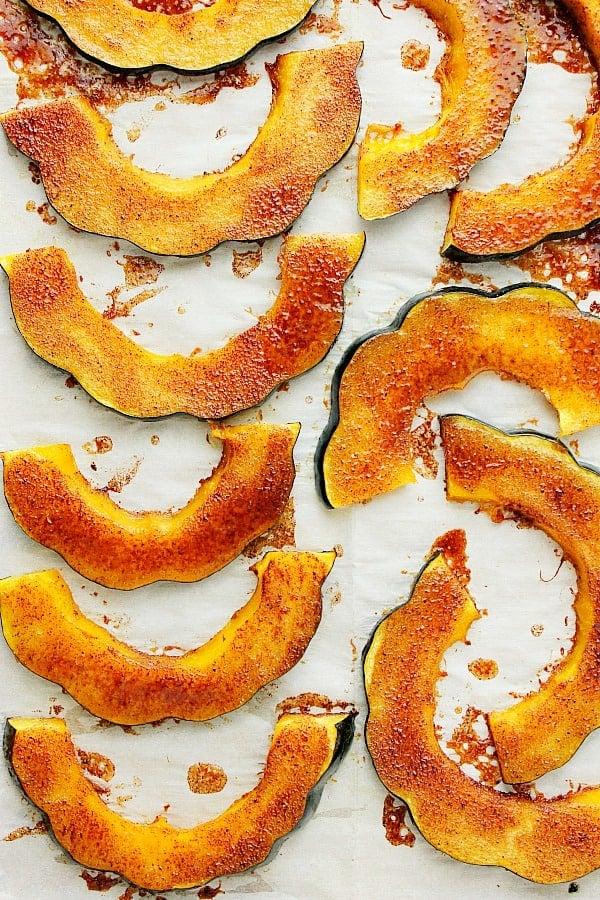 baked acorn squash A Baked Acorn Squash