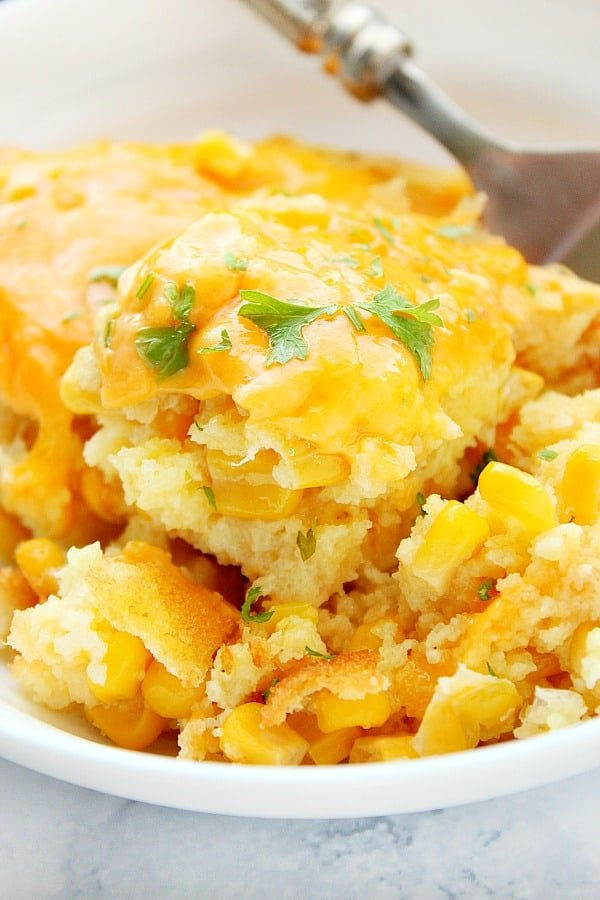 corn casserole B The Best and Easy Holiday Dinner Recipes
