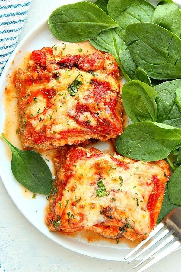 eggplant lasagna C Eggplant Lasagna
