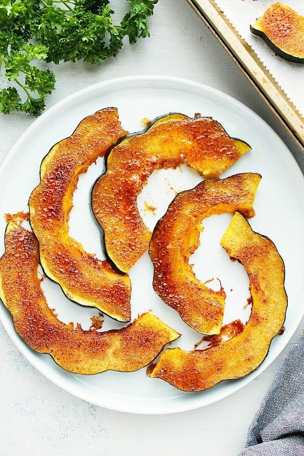 roasted acorn squash Baked Acorn Squash