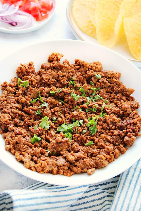 Instant Pot ground beef tacos A Instant Pot Taco Meat