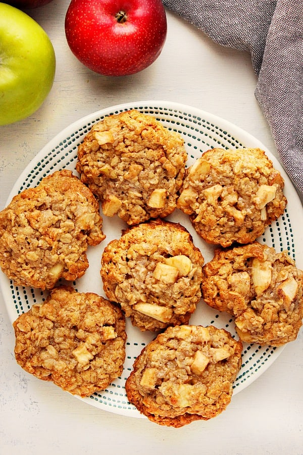 apple oatmeal cookies A Apple Oatmeal Cookies