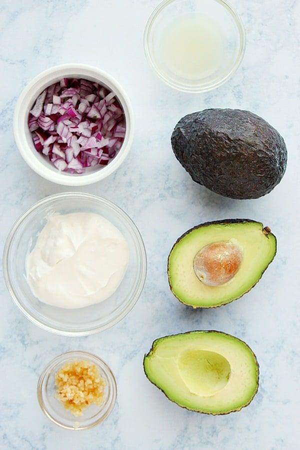 avocado dip ingredients Avocado Dip