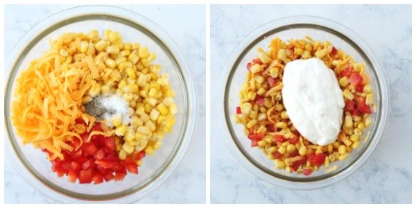 creamy corn dip Collage Creamy Corn Dip