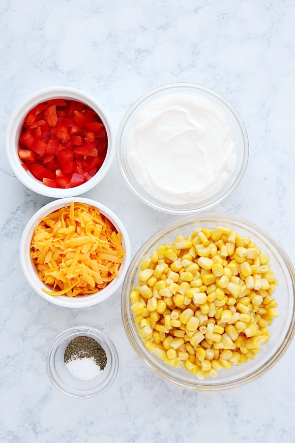 creamy corn dip ingredients Creamy Corn Dip