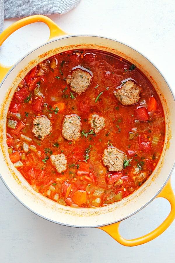 albondigas soup C Albondigas Soup