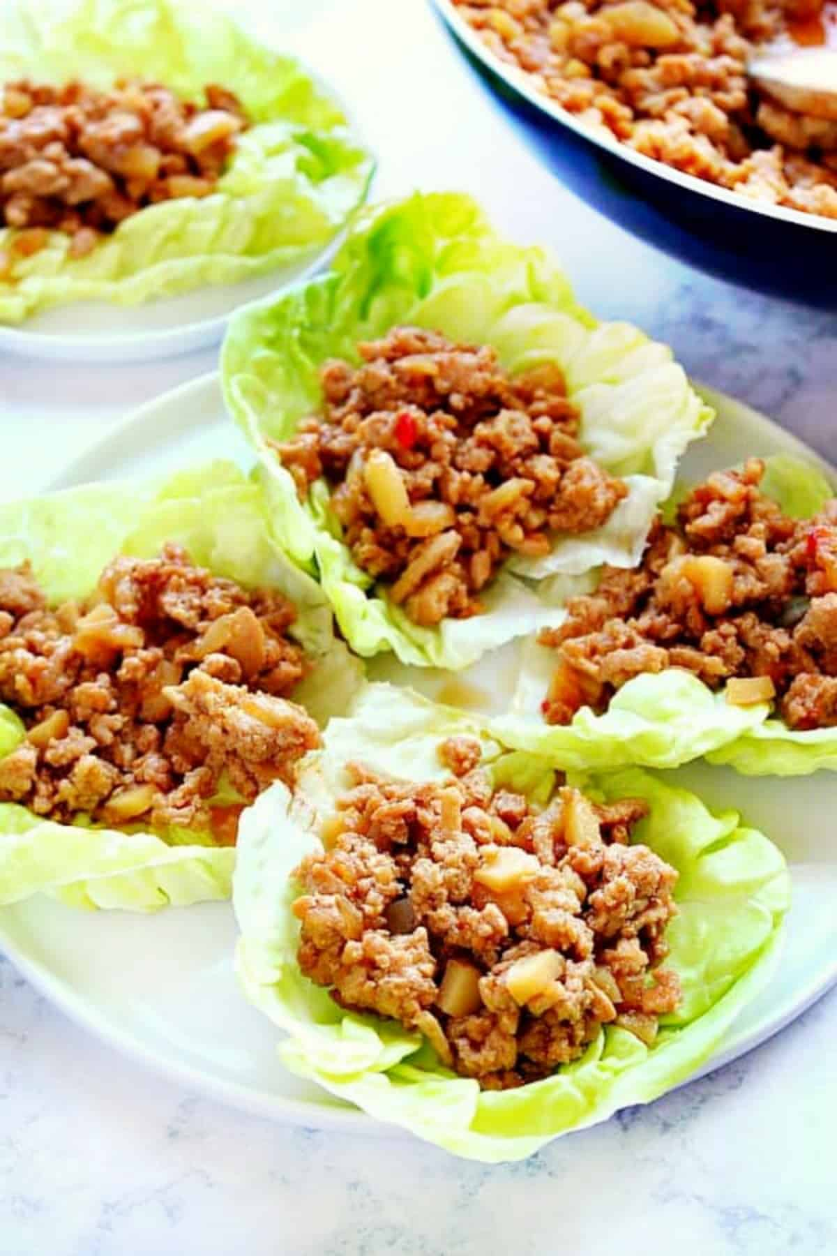 P F Chang S Chicken Lettuce Wraps Crunchy Creamy Sweet