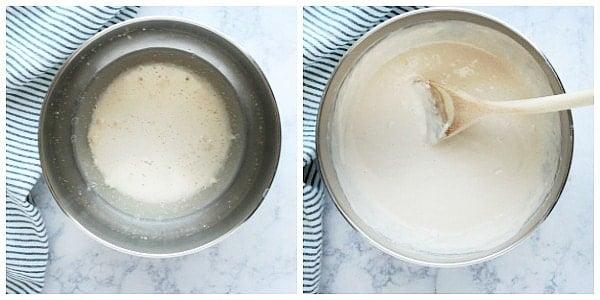 focaccia step 1a Easy Focaccia Bread