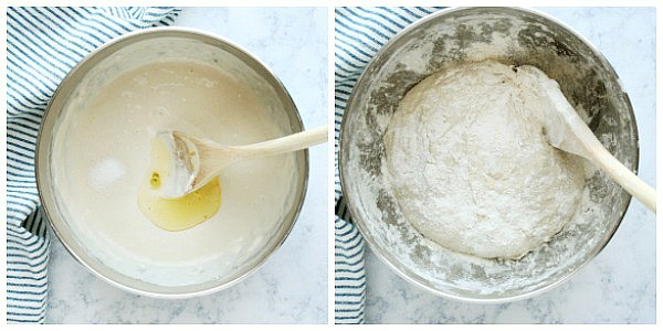 focaccia step 2a Easy Focaccia Bread