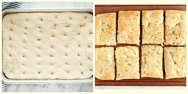 focaccia step 5a Easy Focaccia Bread
