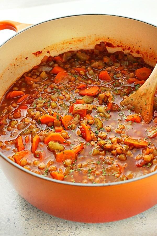 lentil soup B Lentil Soup