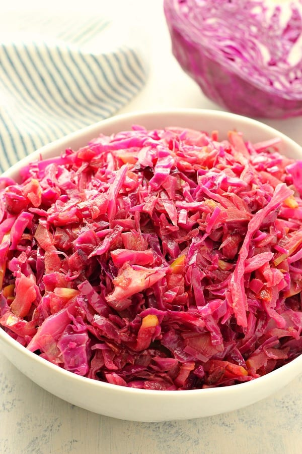 braised cabbage A Braised Red Cabbage
