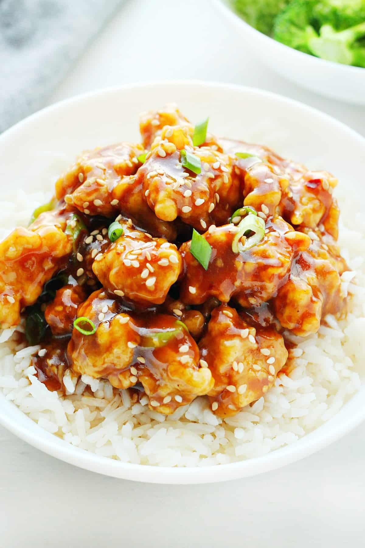 General Tso S Chicken Crunchy Creamy Sweet