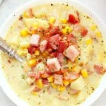 potato ham chowder B 150x150 Potato Ham Chowder