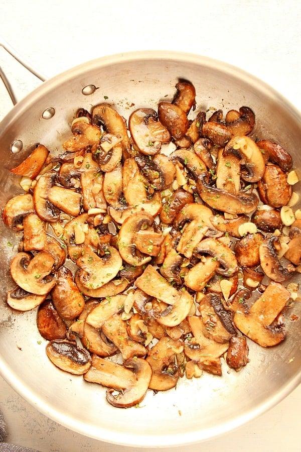 sauteed mushrooms A Sauteed Mushrooms