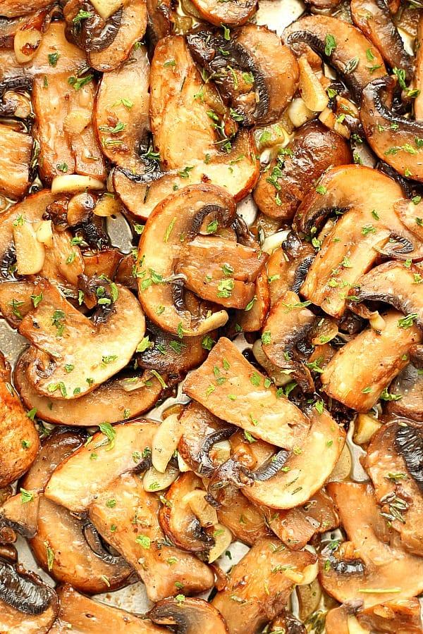 sauteed mushrooms D Sauteed Mushrooms