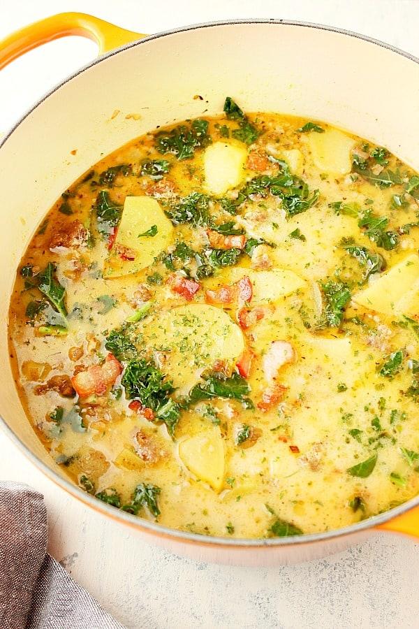 zuppa toscana A Zuppa Toscana